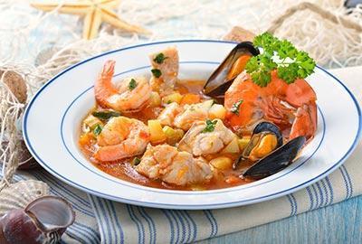 Bouillabaisse Suppe