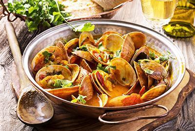Linguine mit Voncole-Muscheln (Venusmuscheln) Rezept