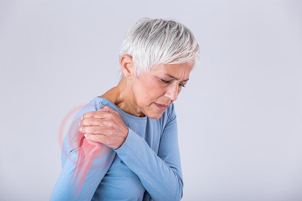 Entzündung an der Schulter