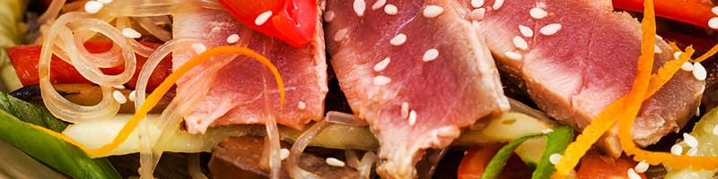 Thunfischsteak mit Asiasoße Rezeptidee
