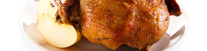 Knusprige Ente mit Bratäpfeln Rezeptidee